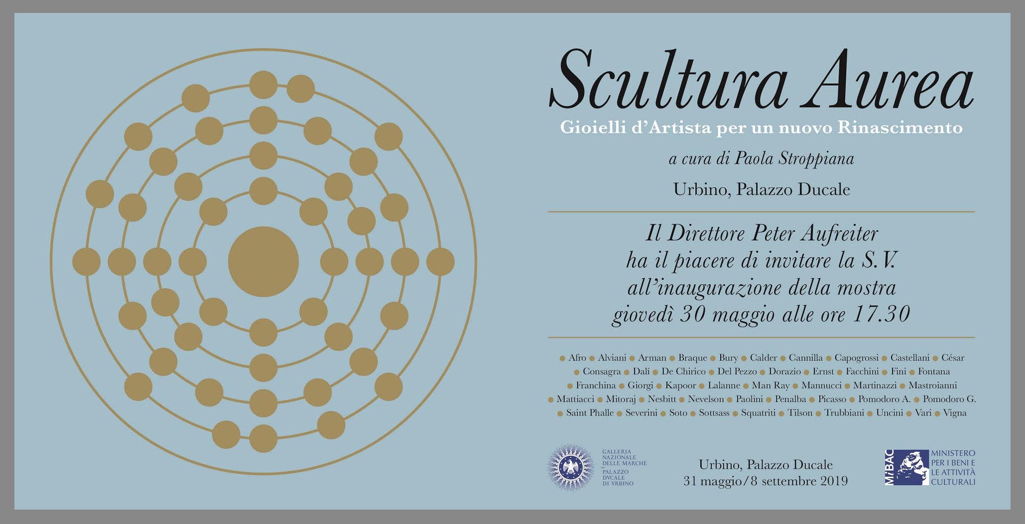 Scultura aurea, Urbino