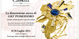 INVITO mostra Gio' Pomodoro - Cassetti
